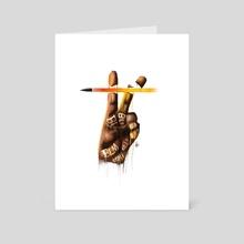 BLM (Charity) - Art Card by Patrick Bonsu