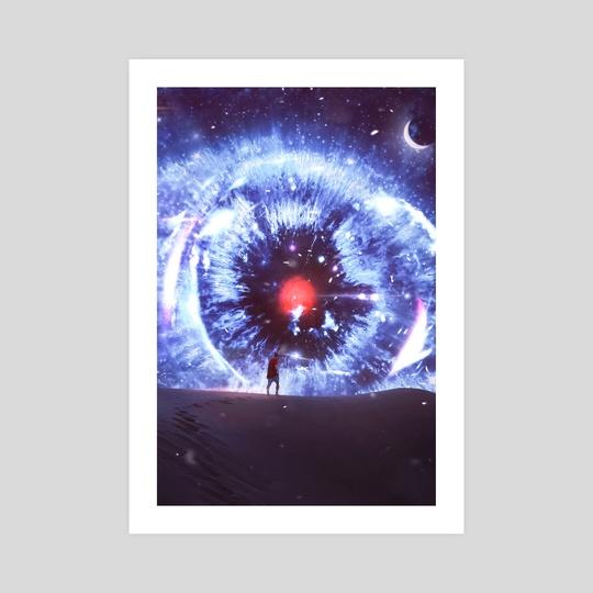 Space Eye by Derrick  Pappoe