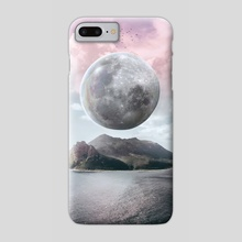 BIG MOON - Phone Case by Dwi Pradhika
