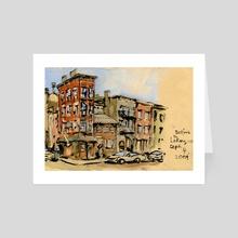 Bedford and Leroy - Art Card by Jason  Das