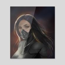 Vestige - Acrylic by Tatiana Hordiienko