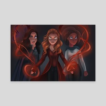 Heroines - Canvas by Alexis Leder