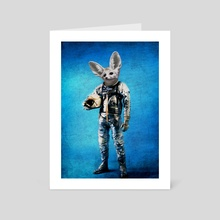 Fennec the captain - Art Card by Durro Art