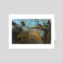 Quetzalcoatlus - Art Card by Jonas Genevaz