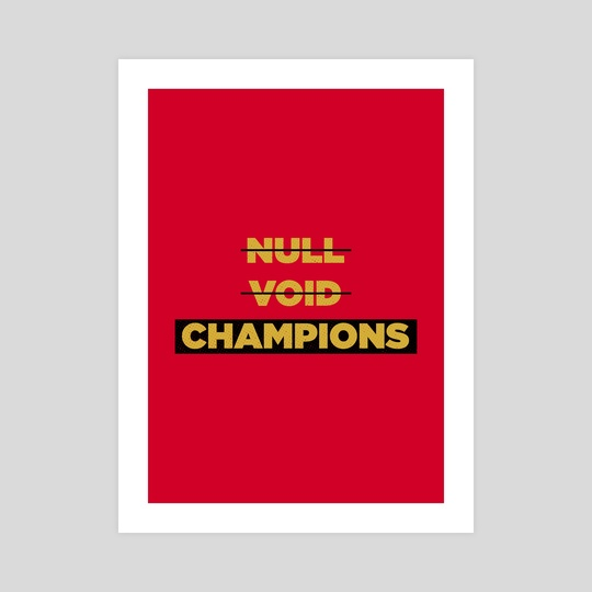 Champions Retro 4 by Visuals Artwork