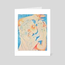 ghosts - Art Card by doobashmurp