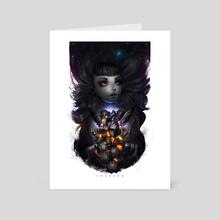 Black Hearth  - Art Card by Zork Marinero