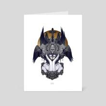 Black Feathers - Art Card by Nekro