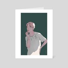 Jimin - Art Card by Paddouk