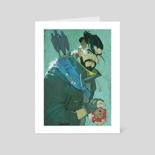 Grumpy - Art Card by Ssara P. Selvik