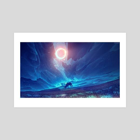 Stellar collision by Kuldar Leement