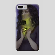 Evil Woman - Phone Case by Cristina de Elías