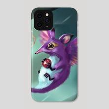 Hummingrat - Phone Case by Emmanuel Johnson