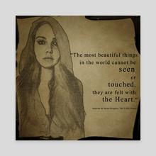 True Beauty - Canvas by Magdalena Adic