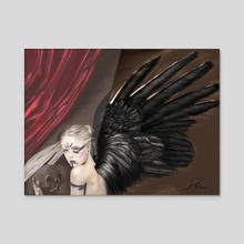 Vanitas.2. 2017 - Acrylic by David Aguilera Cobos