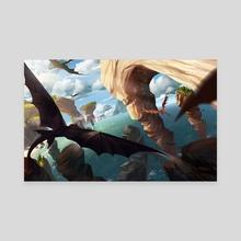 HTTYD2 - Canvas by Aliya and Felicia Chen