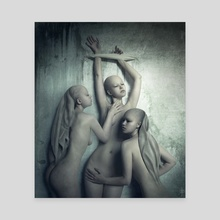 Tristesse - Canvas by Daria Endresen