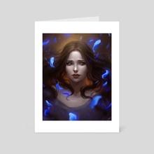 Lyanna - Art Card by Loputon's Art