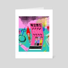 Hyukoh Band - Art Card by Subin Yang