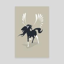 Pegasus - Canvas by YanaGoga