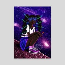 Spacing out - Canvas by Elizabeth Agyemang