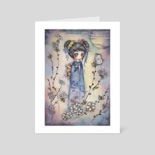 Prayer - Art Card by Juri Ueda
