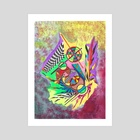3 - Art Print by Jolos