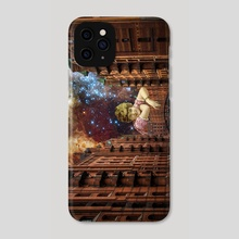 IN THE OTHER SIDE  - Phone Case by Gloria Sánchez