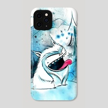 yeti - Phone Case by Emma SanCartier
