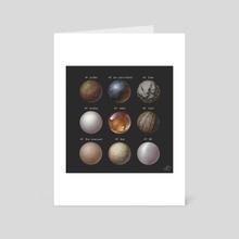 Material Studies_01 - Art Card by Simon Pape