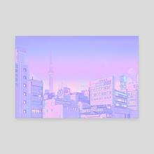 Sailor City - Canvas by Elora Pautrat