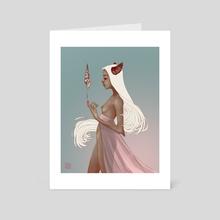 Seashell - Art Card by Tereza Grollmusová