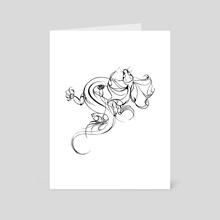 Dragon - Art Card by Kristina Thalin