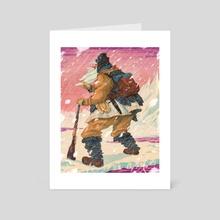 Snow Beard - Art Card by Sean Lewis