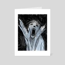 A Scream - Art Card by Todd Kale