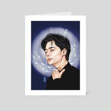 Moonlight Hwanwoong - Art Card by Woodtree