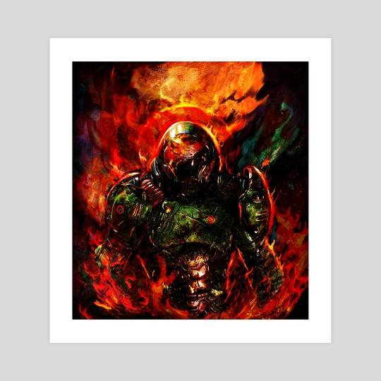 doom eternal by Maxim G