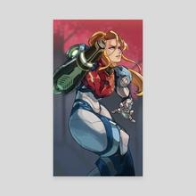 Samus Aran (Metroid Dread) - Canvas by Serim Choi