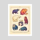 Bears - Art Print by Jonatan Iversen-Ejve