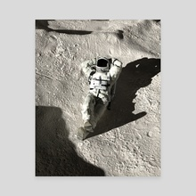 Astro Chaser Hi-Res 002 View B - Canvas by Miky .4K