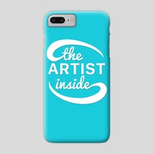 The Artist Inside Logo - Phone Case by Ethan Vuilleumier