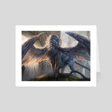 Citywatch Sphinx - Art Card by Magali Villeneuve