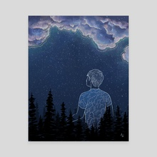 Astral Projection - Canvas by Ash Weaver
