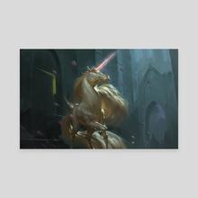Inspiring Unicorn - Canvas by Even Mehl Amundsen
