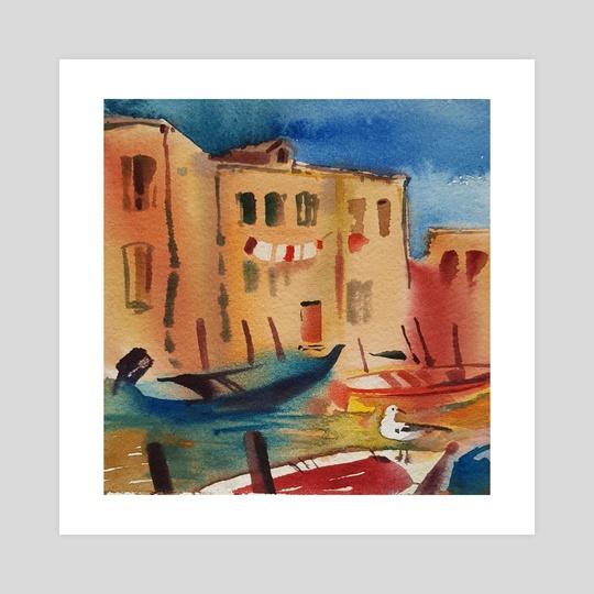 "From series ""Venice days"" #2 by Ekaterina  Yarunova"