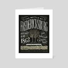 The Battle of Fredericksburg - Art Card by The Union Archive
