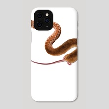Snake/Mouse- You Are What You Eat - Phone Case by Sarah DeRemer