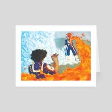 BNHA VS - Art Card by chromi
