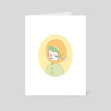 When it´s cold outside - Art Card by Katrin Ewert
