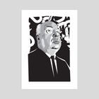 Hitchcock - Art Print by Matt  Fontaine
